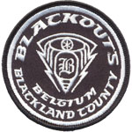 Patches Blackouts - Belgium Blackland