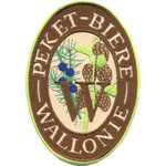 Patches Peket biere de Wallonie