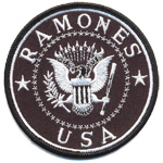 Patches Ramones USA