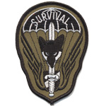Patches Survival dark green