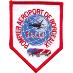 Patches Pompiers Aeroport Bordeau