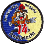 Patches Pompiers Anderlecht 14