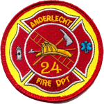 Patches Pompiers Anderlecht 2