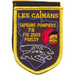 Patches Les Caïmans