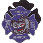 Patches Pompiers aeroport