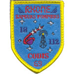 Patches Rhone Pompiers