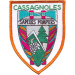 Patches Sapeur Pompier cassagnole
