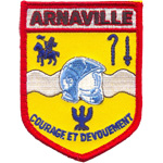 Patches Pompiers Arnaville