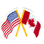 Patches Canada Usa