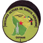 Patches Guyane
