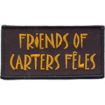 Patches Freinds of carters fêles