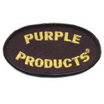 Patches purple products