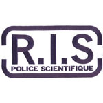 Patches RIS - Police scientifique