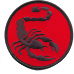 Patches scorpion
