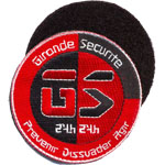Patches Gironde Securite