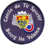 Patches cercle de tir