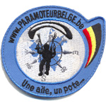Patches Paramoteur Belge