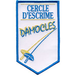 Ecusson  - escrime damocles