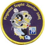 Patches Les pingouins Scaphs