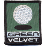 Patches Green Velvet