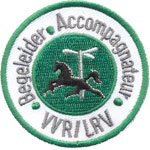 Patches Accompagnateurs VVRILRV