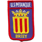 Ecusson  - US Petanque Briey