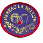 Patches Gensac Petanque