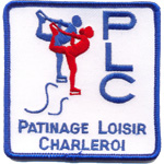 Ecusson  - Patinage Loisir Charleroi