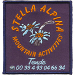 Patches stella alpina