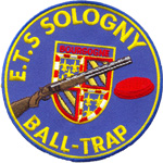 Ecusson  - Ball-trap Sologny