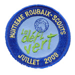 Patches Scouts roubaix