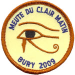 Patches Scouts Clair Matin