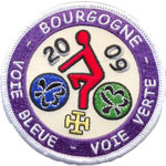 Patches bourgogne
