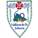 Patches scouts vaillants de StJulienne