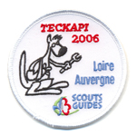 Patches Teckapi scouts-guides