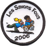 Patches Savons Fous 2006