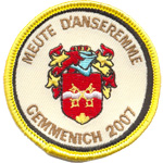 Patches Meute d'Anseremme
