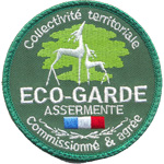 Patches Eco Garde Assermenté