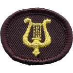 Patches lyre Aumetz