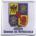 Patches Groupe Edmond de Rotshild
