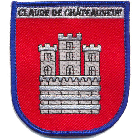 Patches Claude de Chateauneuf