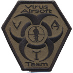 Patches virus airsoft