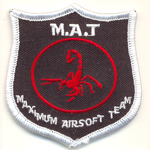 Patches M.A.T. AIRSOFT