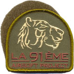 Patches 91 eme