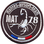 Patches Mantes Airsoft Team