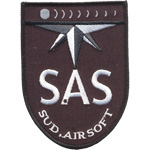Patches SAS Airsoft