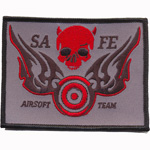 Patches Safe airsoft