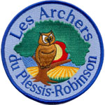 Patches Archers Plessis