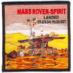 Patches Mars Rover Spirit