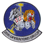 Patches 20th operations groups